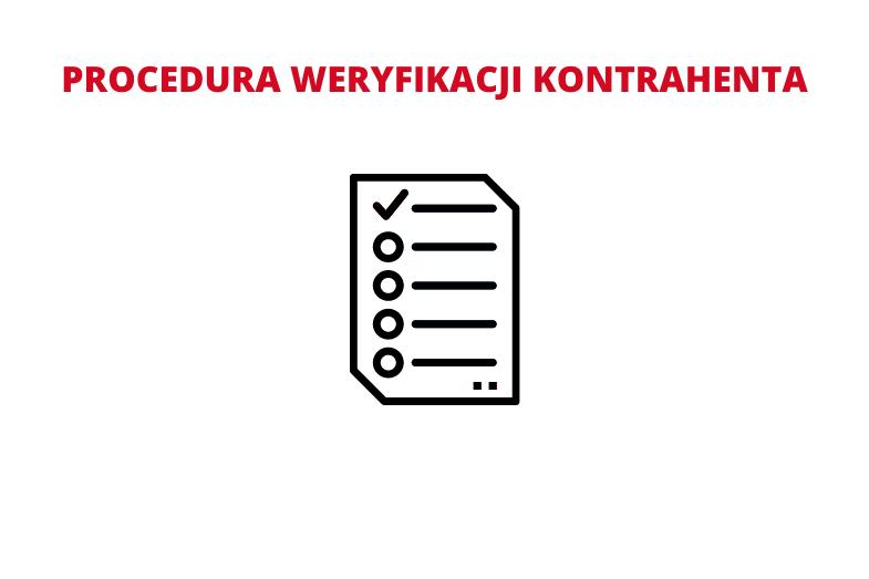 Procedura weryfikacji kontrahenta
